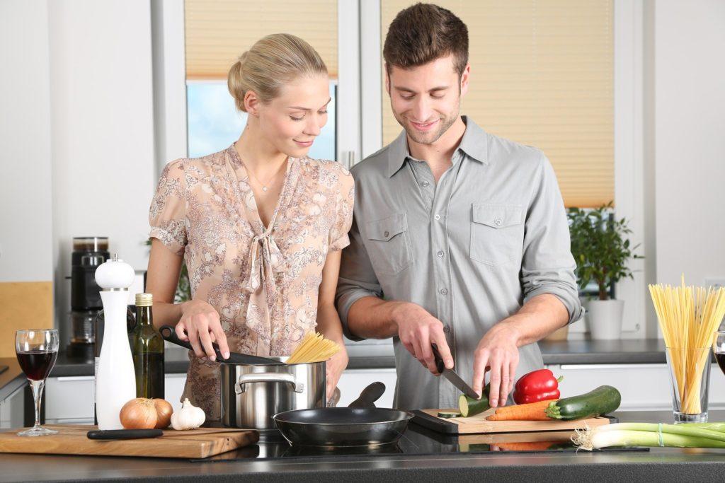 夫婦で料理をしよう