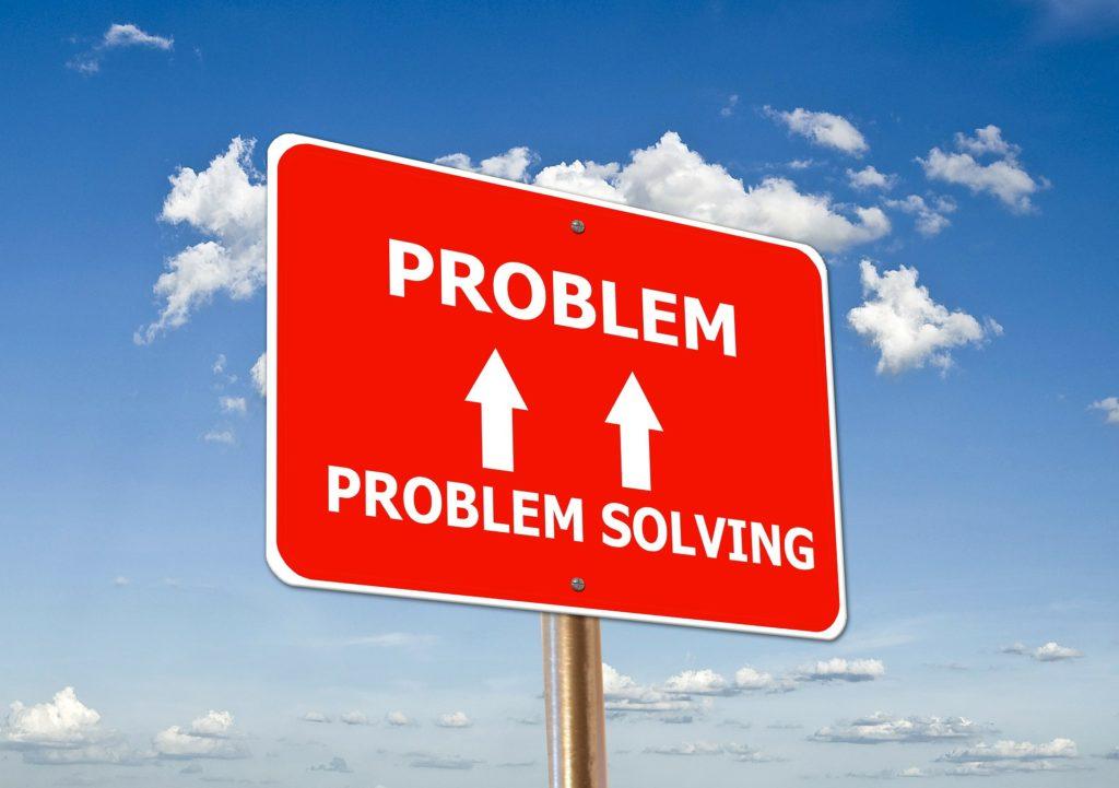 問題を解決する