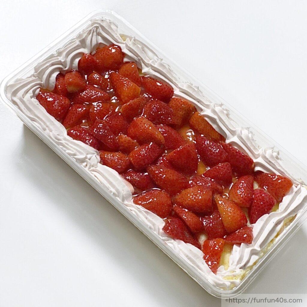 ストロベリーマスカルポーネケーキ