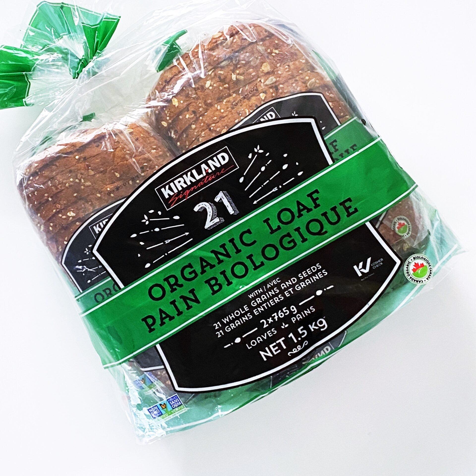 21穀オーガニックパン