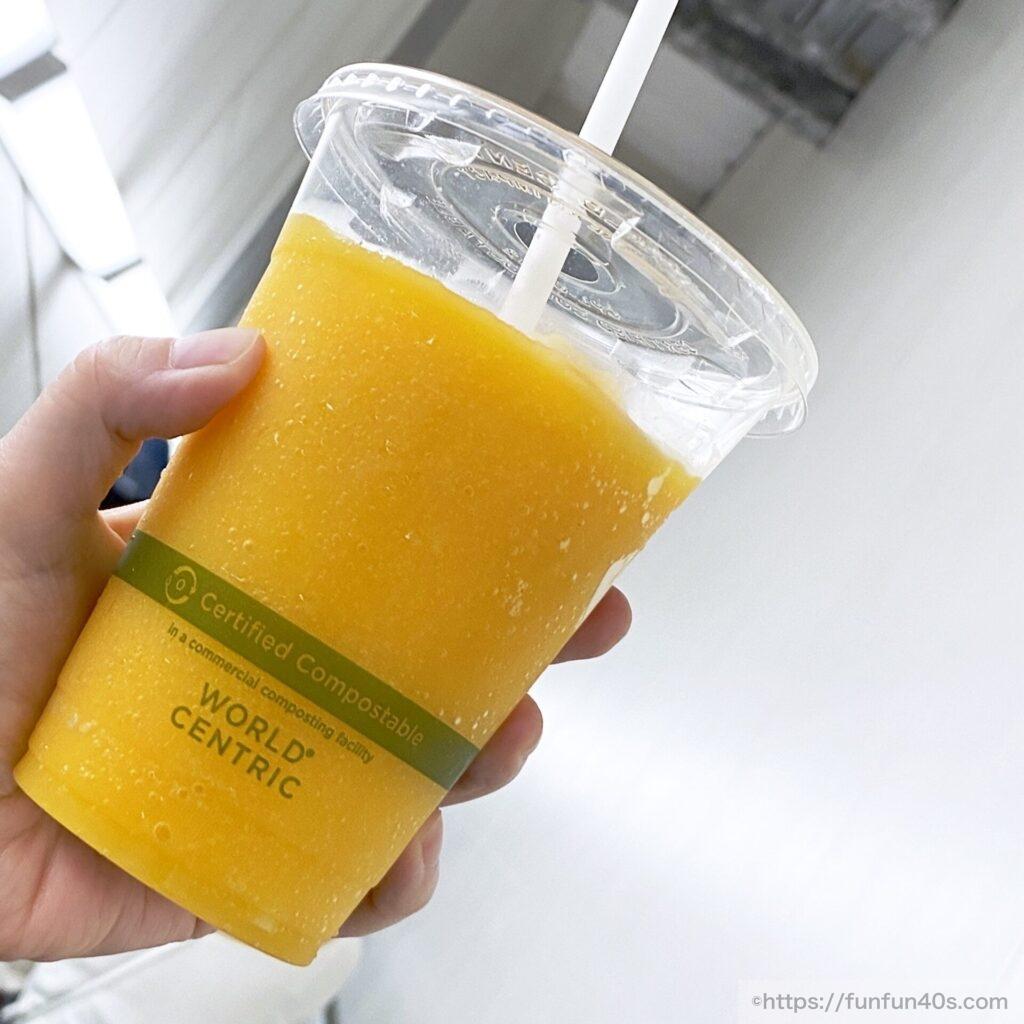 バレンシアオレンジスムージー