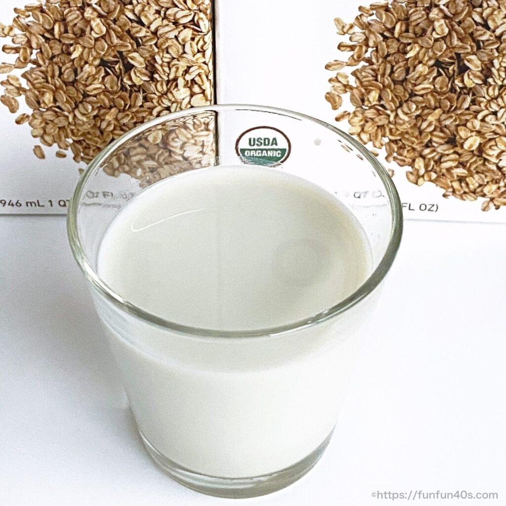 オーガニックオーツミルク
